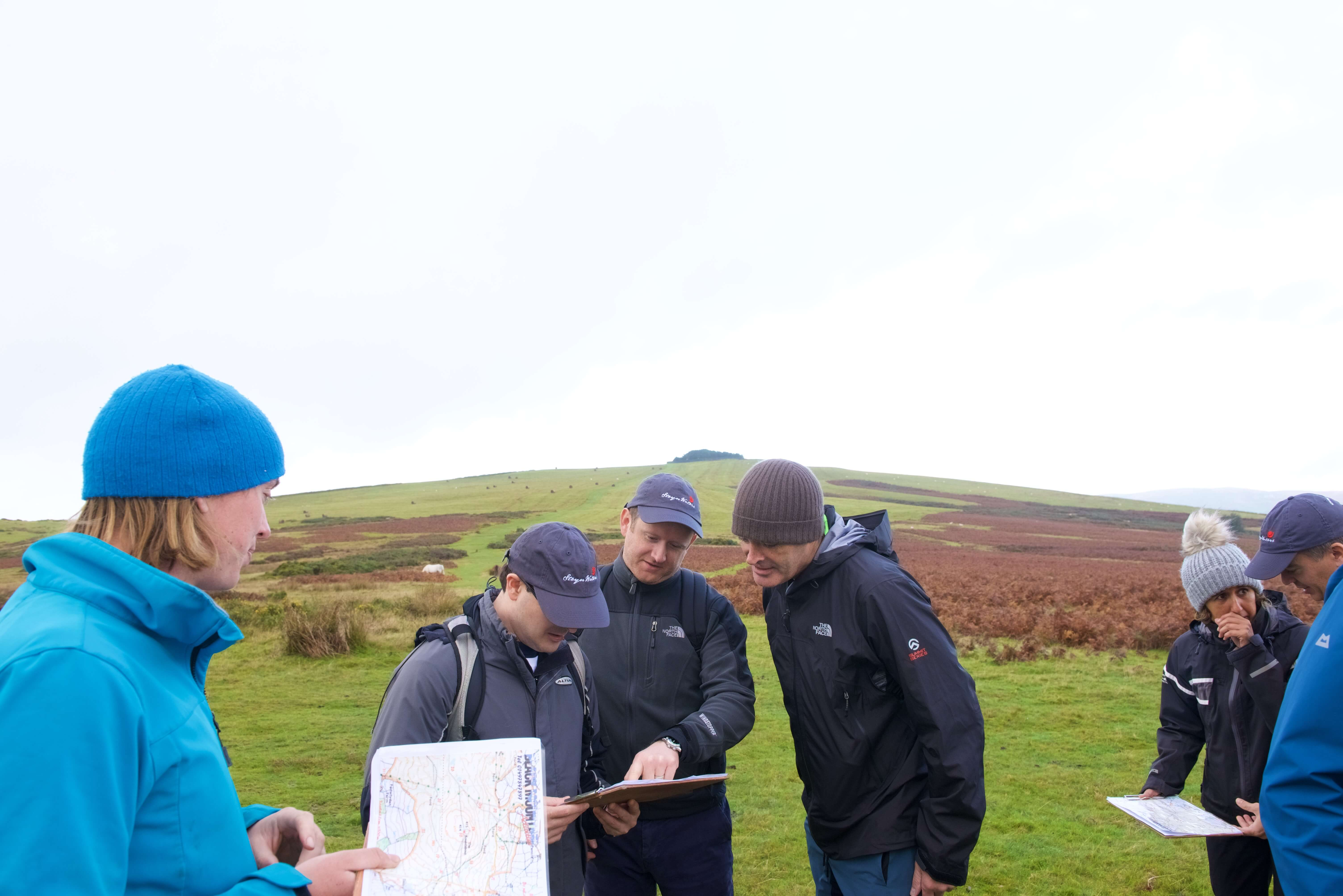 Leadership conference and orienteering in the Welsh Mountains